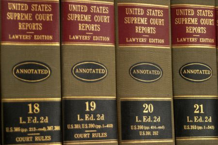 Supreme Court law books